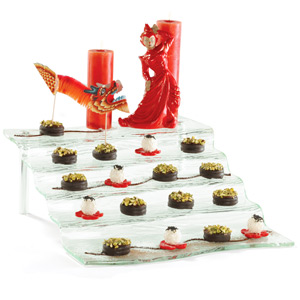 Cristal 5 Step Waterfall Display Tray