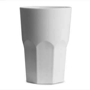 Graniti Plastic Hiball Tumblers White 12.3oz / 350ml