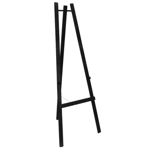 Securit Display Board Easel Black 165cm