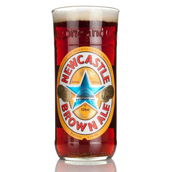 Drinkstuff Beer Bottle Glasses