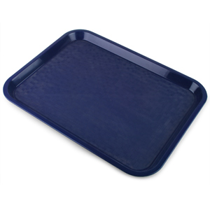 Fast Food Tray Small Blue