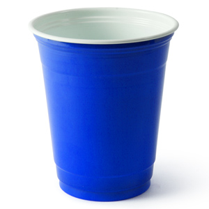 Solo Blue American Party Cups 12oz / 340ml
