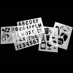 Securit Chalk Board Stencils