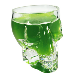 Mini Skull Shot Glass 2.6oz / 75ml
