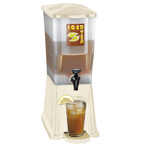 Slimline Beverage Dispenser Almond 400oz / 11.4ltr