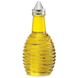 Beehive Glass Oil & Vinegar Dispenser 6oz / 170ml
