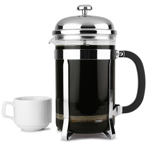 Chrome Cafetiere 12 Cup