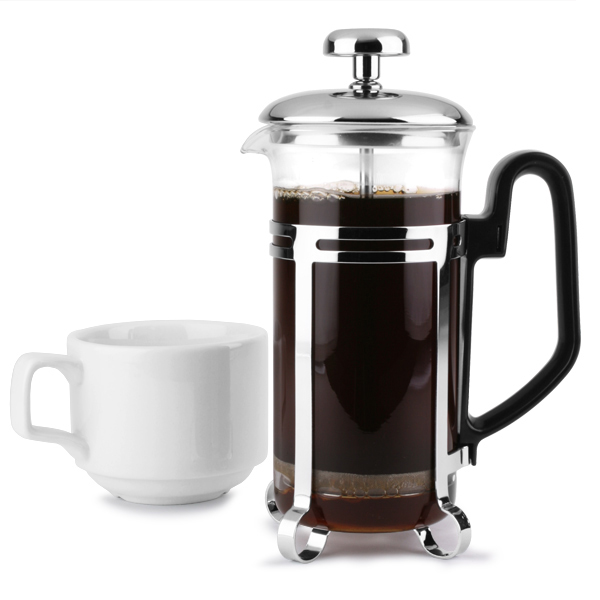 chrome cafetiere 3 cup coffee jug coffee cafetieres coffee pot buy at drinkstuff. Black Bedroom Furniture Sets. Home Design Ideas