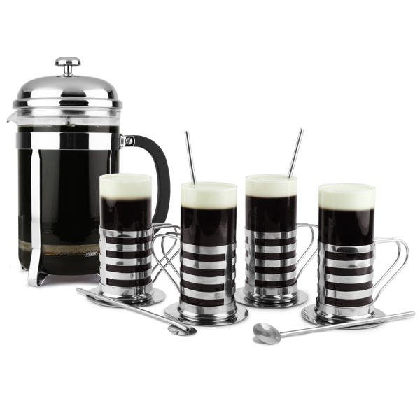 Irish Coffee Cafetiere Set