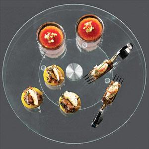 Rotating Round Glass Plate 32.5cm