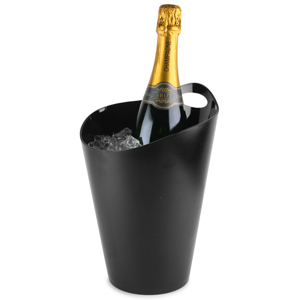 Salsa Wine & Champagne Bucket Black
