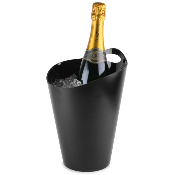 salsa wine  u0026 champagne bucket black