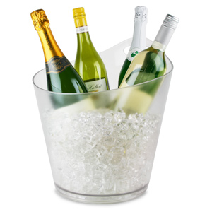 Salsa Wine & Champagne Bowl Clear