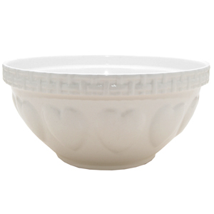 Mason Cash Hearts Mixing Bowl Cream 29cm