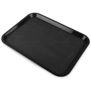 Fast Food Tray Small Black