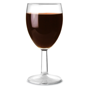 Saxon Toughened Wine Glasses 9oz LCE at 175ml