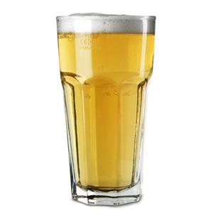 Gibraltar Original Beer Glasses 22oz LCE at 20oz