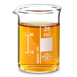 Glass Measuring Beaker 25ml