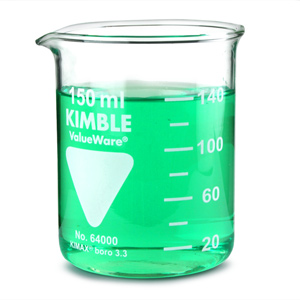 Glass Measuring Beaker 125ml