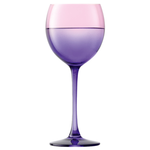 LSA Mezzo Wine Glasses Rose/Violet 14oz / 400ml