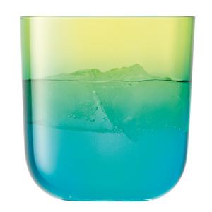 LSA Mezzo Tumblers Lime/Turquoise 14.75oz / 420ml