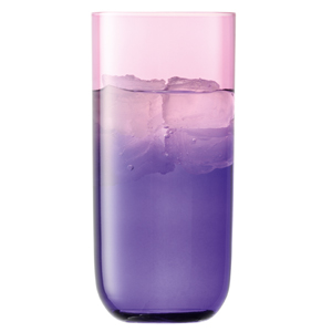 LSA Mezzo Hiball Glasses Rose/Violet 17.2oz / 490ml