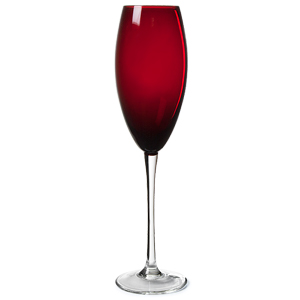 Ruby Red Champagne Flutes 7oz / 200ml