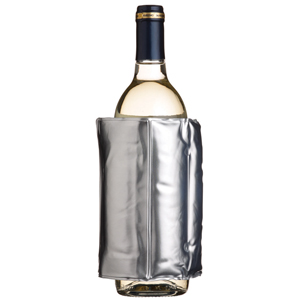 Bar Craft Wrap Around Chiller Sleeve Silver