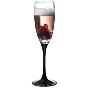 Domino Champagne Flutes 6oz / 170ml