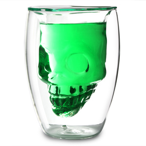 Skull Glass 6oz / 175ml