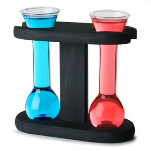 Mini Yard Glasses with Stand