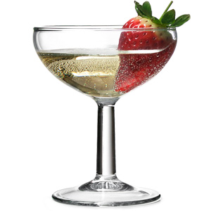 Ballon Champagne Saucers 46oz 130ml Case Of 72