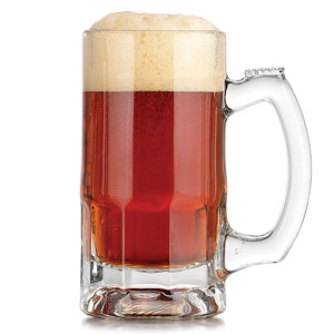Trigger Beer Mugs 12oz LCE at 10oz