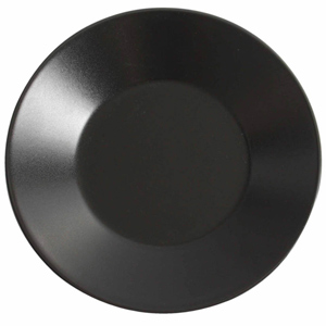 Midnight Wide Rim Plate Black 21cm