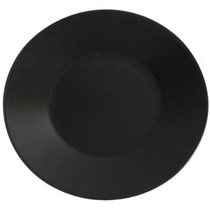 Midnight Wide Rim Plate Black 30.5cm
