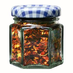 Kilner Hexagonal Twist Top Jar 48ml