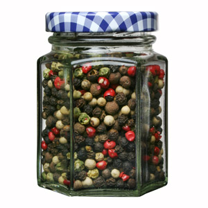 Kilner Hexagonal Twist Top Jar 110ml