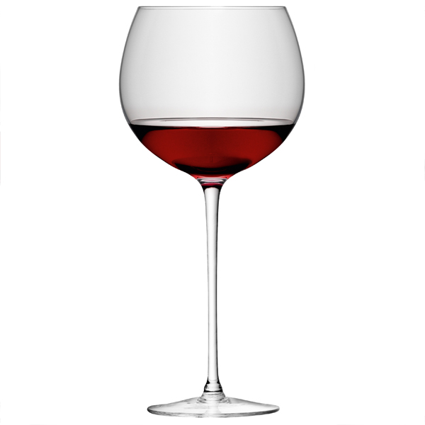 Lsa wine collection balloon wine glasses 20oz 570ml for Large red wine glass