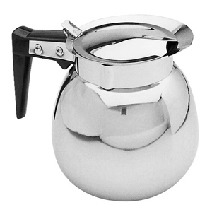 Sunnex Stainless Steel Coffee Decanter 64oz / 1.9ltr