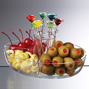 Happy Hour Garnish Server Set