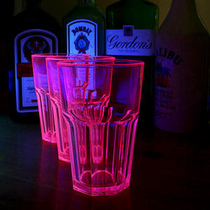 Elite Remedy Polycarbonate Neon Tumblers Pink 14oz / 400ml