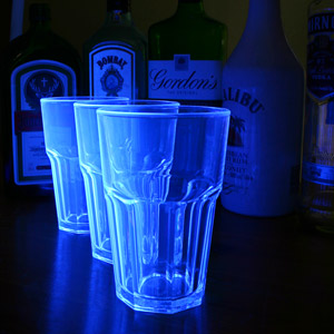 Elite Remedy Polycarbonate Neon Tumblers Blue 14oz / 400ml