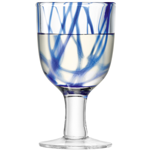 LSA Cirro Wine Glasses Cobalt 10.5oz / 300ml