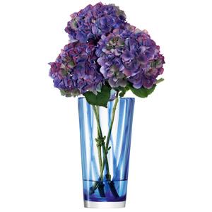 LSA Cirro Vase Cobalt 30cm