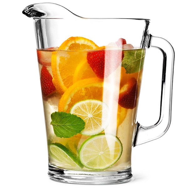 Glass mexico jug at drinkstuff for Pitcher drink recipes for parties