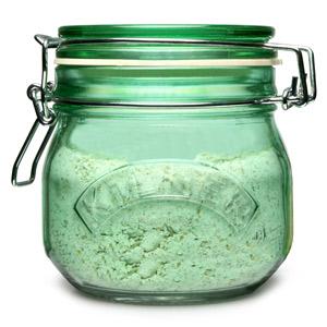 Kilner Round Clip Top Jar Green 0.5ltr