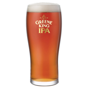 Greene King IPA Tulip Pint Glasses CE 20oz / 568ml