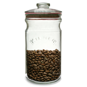 Kilner Push Top Glass Storage Jar 1.5ltr