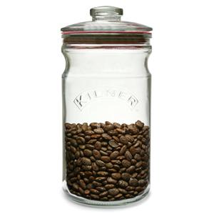 Kilner Push Top Glass Storage Jar 1.5ltr
