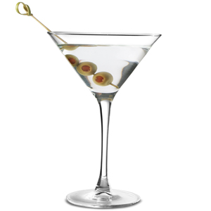 Martini Cocktail Glasses Tempered 7.4oz / 210ml